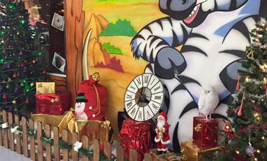 Pere Noel Parc de jeux pour enfants