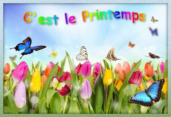 Vacances printemps